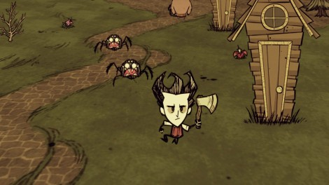 Las arañas... estan en todos lados!